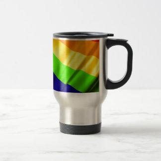 Lgbt Gay Flag Symbol Pride Rainbow Lesbian Love Travel Mug
