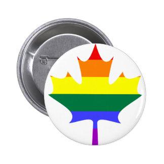 LGBT / Gay Pride Canada Button
