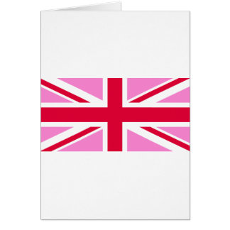 LGBT Gay Pride Rainbow Flag of the United Kingdom Card