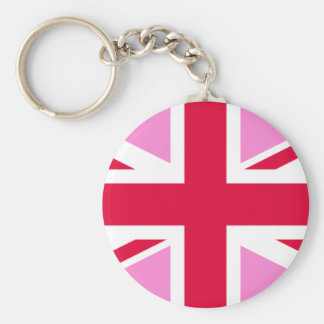 LGBT Gay Pride Rainbow Flag of the United Kingdom Keychain