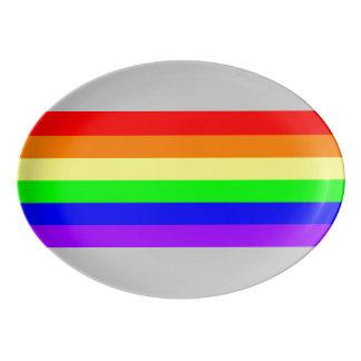 LGBT Gay Pride Rainbow Platter