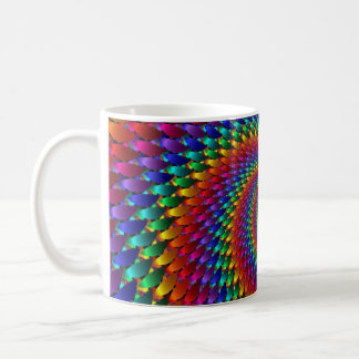LGBT Gay Pride Rainbow Spiral Fractal Infinity! Coffee Mug