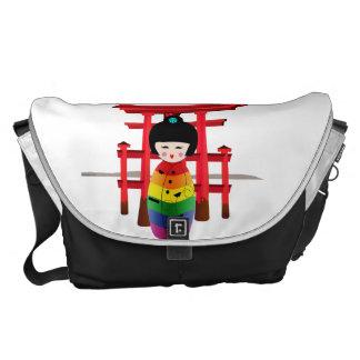 LGBT Geisha Doll Courier Bag