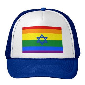 LGBT Israel Trucker Hat