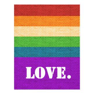 LGBT Love Letterhead