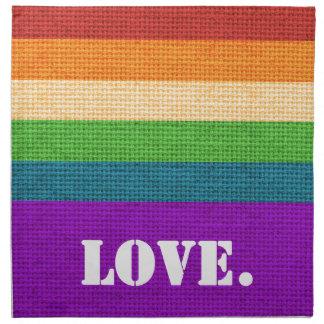 LGBT Love Napkin