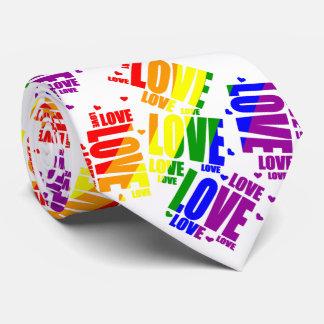 LGBT Love Text Tie