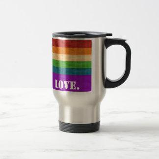 LGBT Love Travel Mug