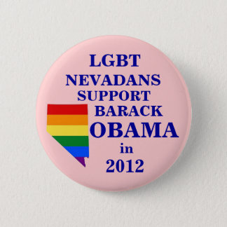 LGBT Nevadans for Obama 2012 2 Inch Round Button