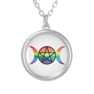 LGBT Pagan Pride Necklace