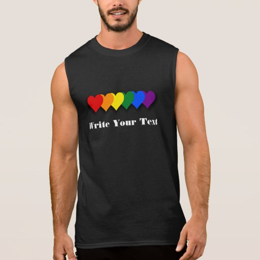 LGBT pride custom T-Shirt Sleeveless T-shirts