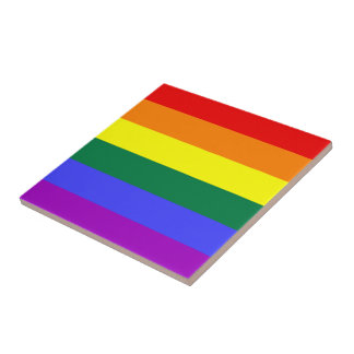 LGBT Pride Rainbow Flag Tiles