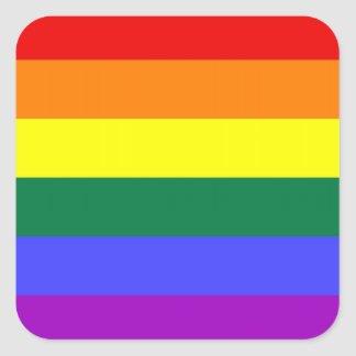 LGBT Pride Stickers (Square)