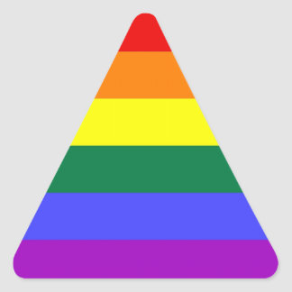 LGBT Pride Stickers (Triangle)