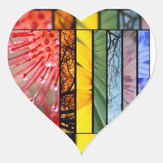 LGBT Pride Symbol Rainbow Custom Envelope Seals /