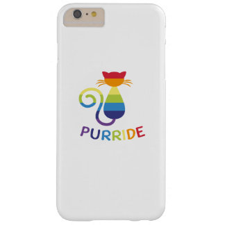 LGBT Purride  Gay Lesbian Pride Cat  Funny Gift Barely There iPhone 6 Plus Case