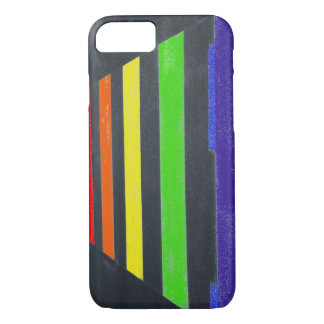 LGBT Rainbow Crossing iPhone 7 Phone Case