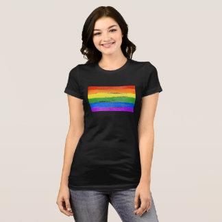 LGBT RAINBOW FLAG PAINT T-Shirt