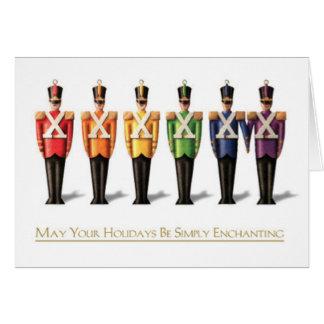 LGBT Rainbow Nutcracker General Holiday Card