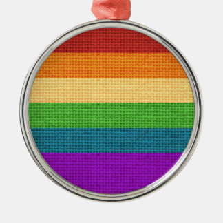 LGBT Rainbow Pride Holiday Ornament