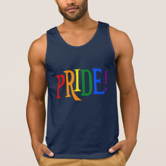 LGBT rainbow pride Tank Top