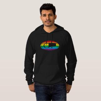 LGBT State Pride Euro: CT Connecticut Hoodie
