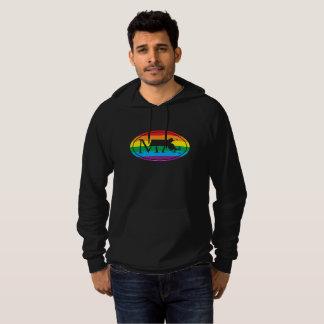 LGBT State Pride Euro: MA Massachusetts Hoodie