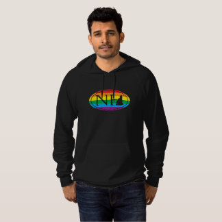 LGBT State Pride Euro: NH New Hampshire Hoodie