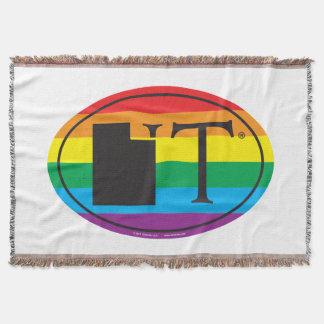 LGBT State Pride Euro: UT Utah Throw Blanket