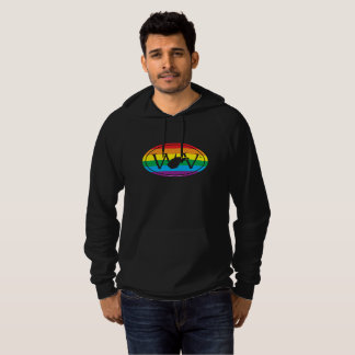 LGBT State Pride Euro: WV West Virginia Hoodie