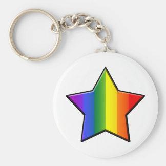 LGBT Super Star Keychain