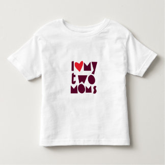 LGBT supportive shirt for child with two moms