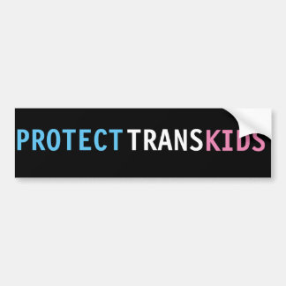 LGBT Trans Rights Bumper Sticker