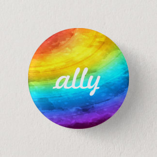 LGBTQ+ Ally Button