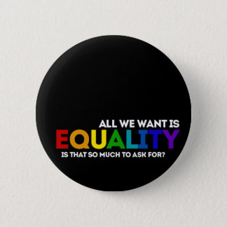 LGBTQ Equality 2 Inch Round Button