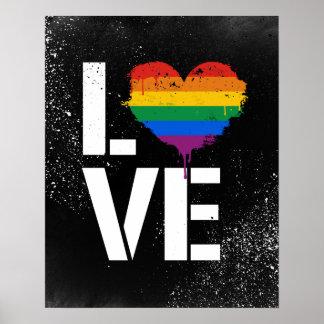 LGBTQ LOVE - - LGBTQ Rights -  -  Poster