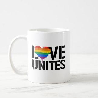LGBTQ LOVE UNITES - - LGBTQ Rights -  Coffee Mug