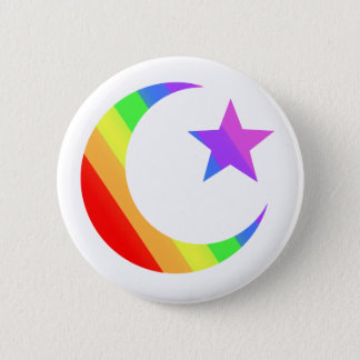 LGBTQ Muslim 2 Inch Round Button