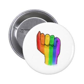 LGBTQ+ Pride Button Pin