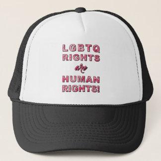 LGBTQ RIGHTS... TRUCKER HAT