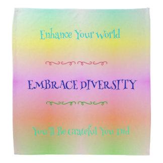 #LGBTQA Pride Pastel Rainbow  Embracing Diversity Bandannas