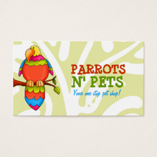 LGC | Parrots N' Pets Business Card