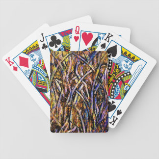 lgcarnivalglassgrasswithorangenmoldfungus bicycle playing cards