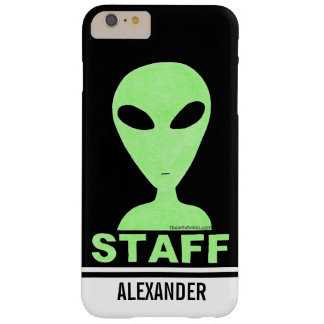 LGM Staff Alien Humor UFO Geek Barely There iPhone 6 Plus Case