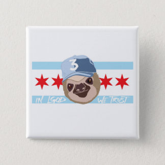 LGOD Chicago Sloth Button
