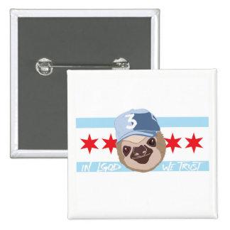 LGOD Chicago Sloth Button
