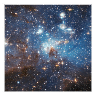 LH 95 Star forming region NASA Photo Print
