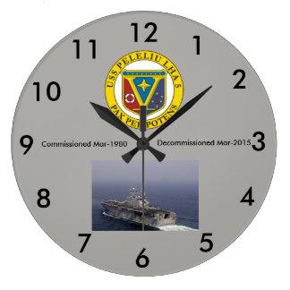 LHA-5 USS Peleliu wall clock