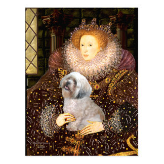 Lhasa Apso 10 - Queen Postcard