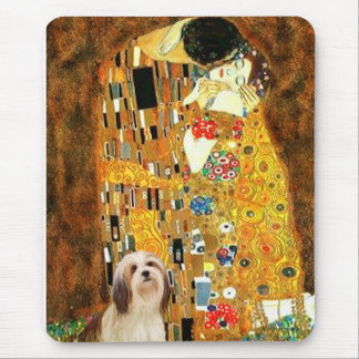 Lhasa Apso 4 - The Kiss Mouse Pad